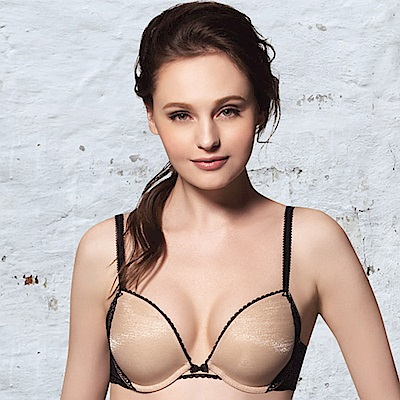 莎薇 Btempd 簡潔時尚 C-F 罩杯內衣(黑)
