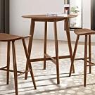 Boden-卡蘿2.7尺圓形吧台桌/洽談桌/休閒桌-80x91.5cm