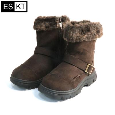 ESKT 兒童雪鞋SN222【深咖啡色】