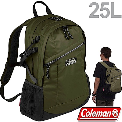 Coleman CM-34361橄欖葉 25L健行者背包/雙肩後背包