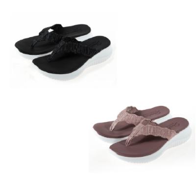 SKECHERS 女 休閒系列 涼拖鞋 ULTRA FLEX-32497兩色