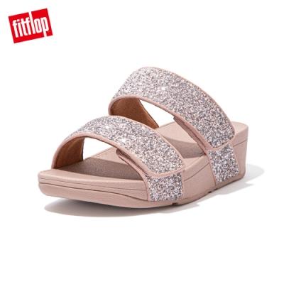FitFlop MINA GLITTER MIX SLIDES寬帶涼鞋-女(珊瑚粉)