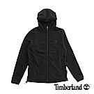 Timberland 男款黑色户外保暖連帽抓绒外套|A1NPD