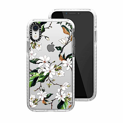 Casetify iPhone XR 耐衝擊保護殼-木蘭花