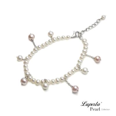 大東山珠寶 純銀淡水珍珠手鍊  濃情