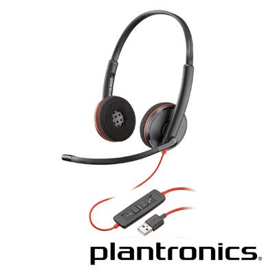 繽特力 Plantronics Blackwire C3220 雙耳頭戴式UC耳機