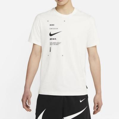 Nike NSW SWSH CLUB TEE 男短袖上衣 白-DJ5374110