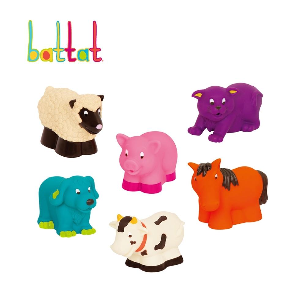 Battat 洗澡玩具-農場(霓虹)