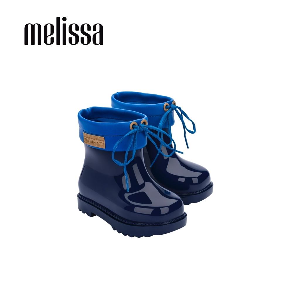 Melissa 低筒雨靴 寶寶款-藍