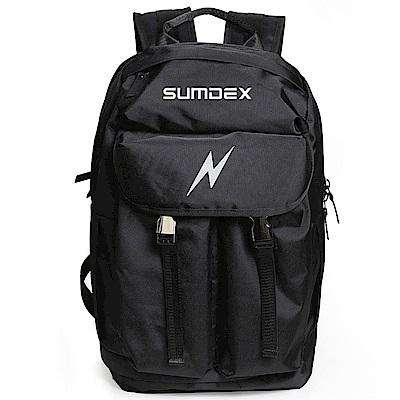 SUMDEX  TX5002BK大容量運動登山電腦背包15.6吋黑色