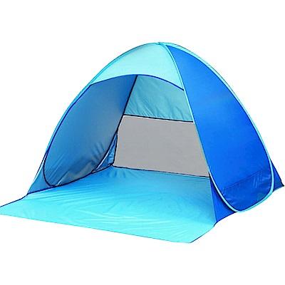 親親寶貝 韓國熱銷全自動速開摺疊透氣戶外防曬帳篷(野餐/沙灘/垂釣必備)