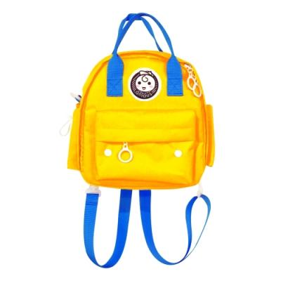 (1元加價購)QRIOUS奇瑞斯小Q後背包(黃、綠、粉隨機出貨)