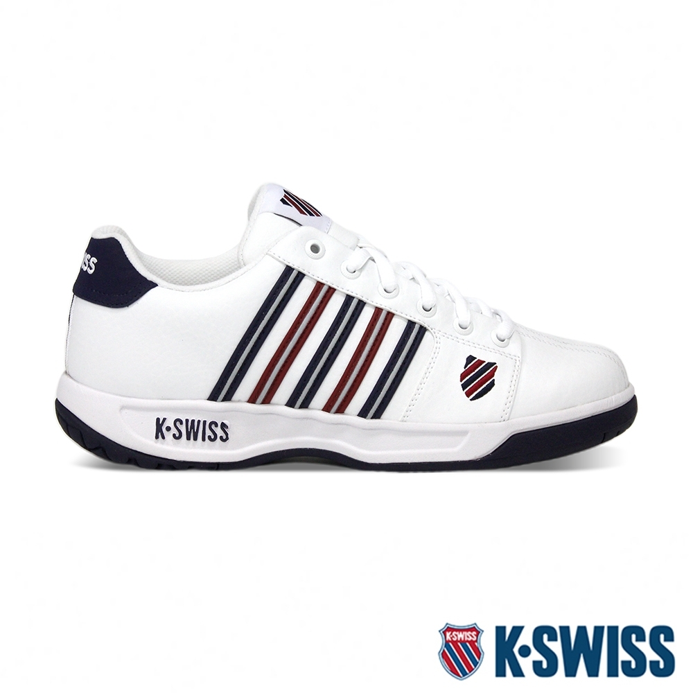 K-SWISS Eadall老爹鞋-男-白/紅/藍