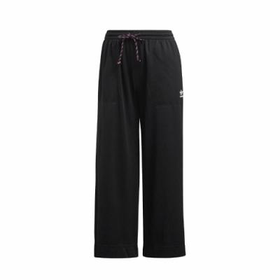 adidas 長褲 Culotte Pants 寬褲 休閒 女款 愛迪達 三葉草 流行 穿搭 寬鬆 口袋 黑 白 FL4057