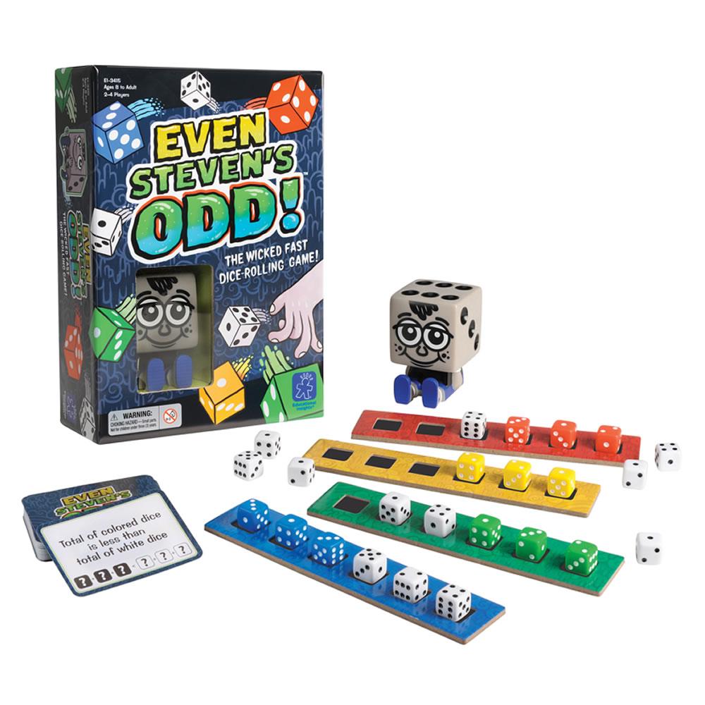 美國Educational Insights親子互動桌遊 - 骰子先生搶奪戰
