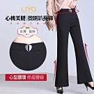 褲子-LIYO理優-心機美腿翹臀微喇長褲