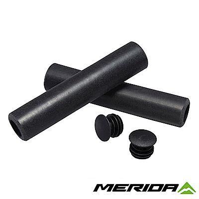 《MERIDA》美利達 自行車矽膠握把 黑 2058035104