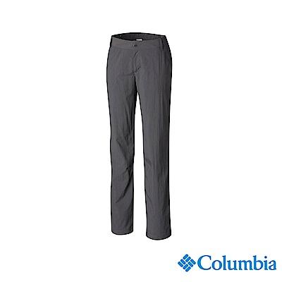 Columbia 哥倫比亞 女款-UPF50快排長褲-深灰 UAR26680DY
