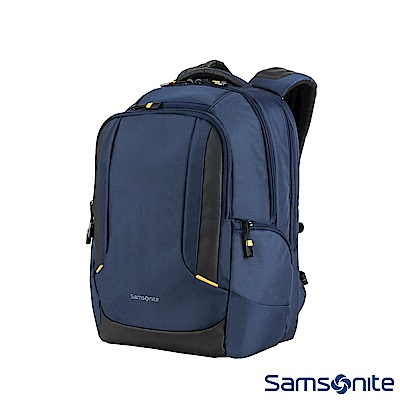 Samsonite新秀麗 Locus智慧型專屬筆電收納減壓後背包N1(藍)