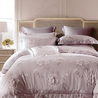 Lily Royal 100支尊爵天絲 四件式兩用被床包組 雙人 飛絮