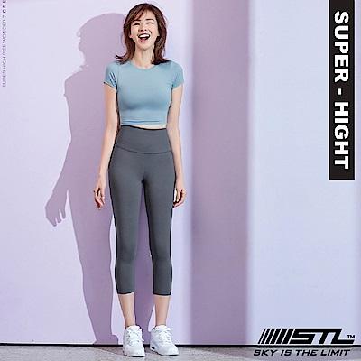 STL Wonder legging 7 韓 女 超高腰運動拉提褲 奇蹟灰