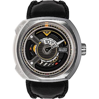 (無卡分期12期)SEVENFRIDAY 工業革命 W1 / 01 Blade 自動上鍊機械錶