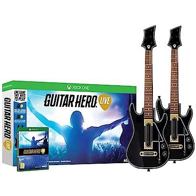 吉他英雄 實況 雙吉他同捆 Guitar Hero Live - XBOX ONE 英文版