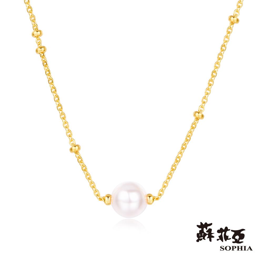 蘇菲亞SOPHIA - G LOVER系列珍情黃金套鍊