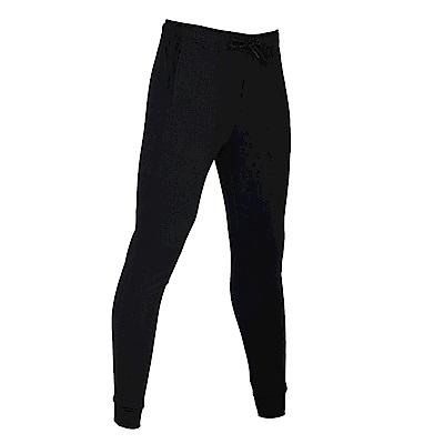 【ZEPRO】女子個性拼接休閒長褲-簡約黑