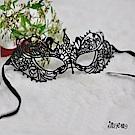 眼罩 蕾絲立體眼罩 角色扮演cosplay服裝表演服配件 流行e線