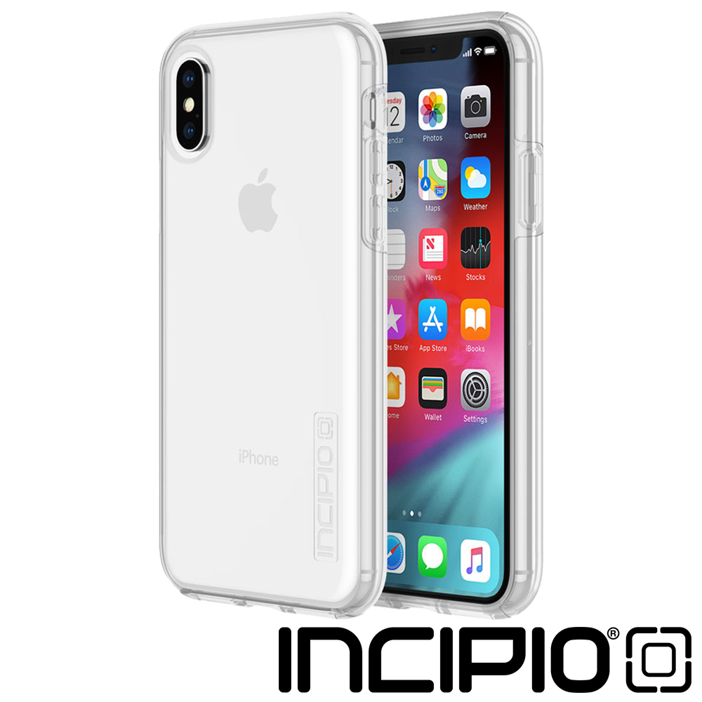 Incipio iPhoneXS Max雙層防護系列防摔保護殼-透明
