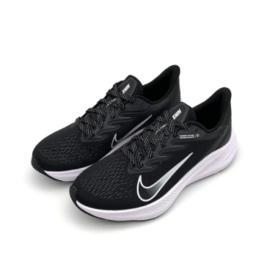 NIKE WMNS ZOOM WINFLO 7 女鞋 運動鞋 黑 (CJ0302005)