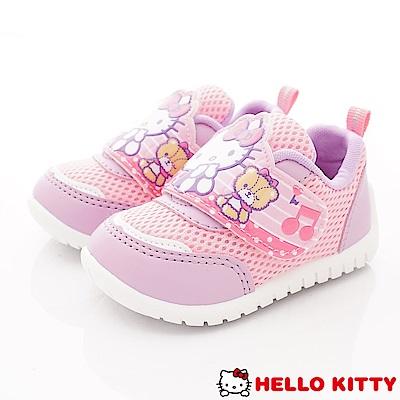 HelloKitty童鞋 透氣輕量運動款 SE18714紫粉(小童段)