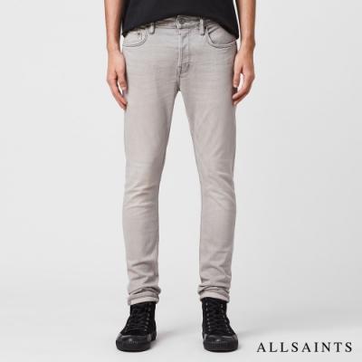 ALLSAINTS  CIGARETTE 緊身錐形剪裁棉質牛仔褲-淺灰