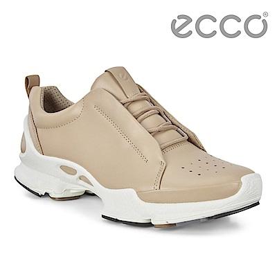 ECCO BIOM C - LADIES 經典潮流閃耀皮革運動休閒鞋 女-裸色