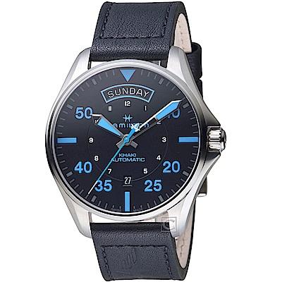 Hamilton漢米爾頓卡其航空系列Air Zermatt機械手錶(H64625731)