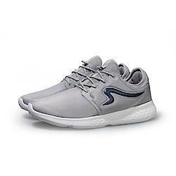 【ZEPRO】男子CITY RUN系列運動時尚休閒鞋-低調灰