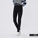 【KiKi】修身顯瘦合身-長褲(卡其色)