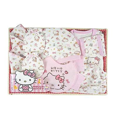 三麗鷗系列-HELLO KITTY(凱蒂貓)新生兒禮盒組