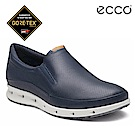 ECCO COOL 360度環繞防水休閒懶人鞋-藍