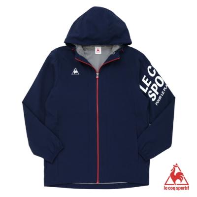法國公雞牌防風外套 LJK6162039-男-藏青