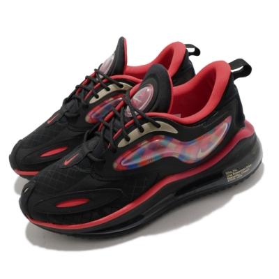Nike 休閒鞋 Air Max Zephyr 運動 男鞋 氣墊 舒適 避震 簡約 球鞋 穿搭 黑 紅 DD8486096
