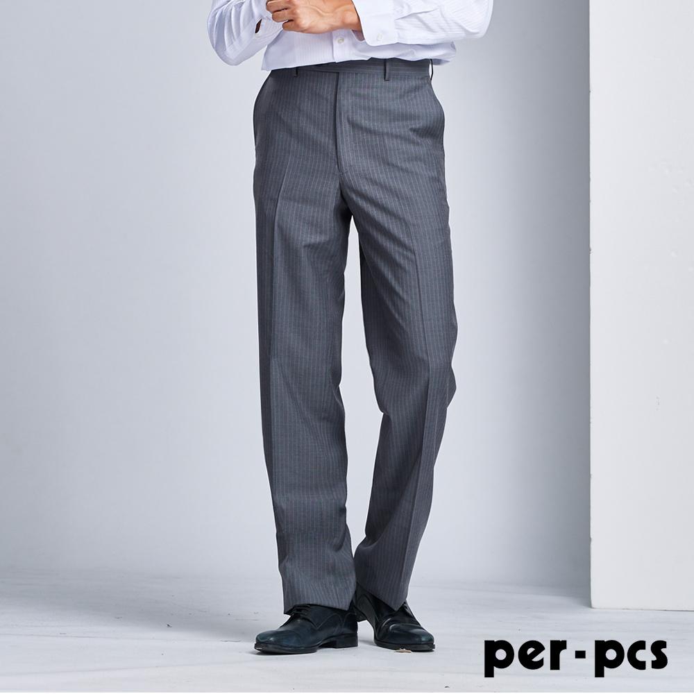 per-pcs 優雅紳士條紋西褲(707115)