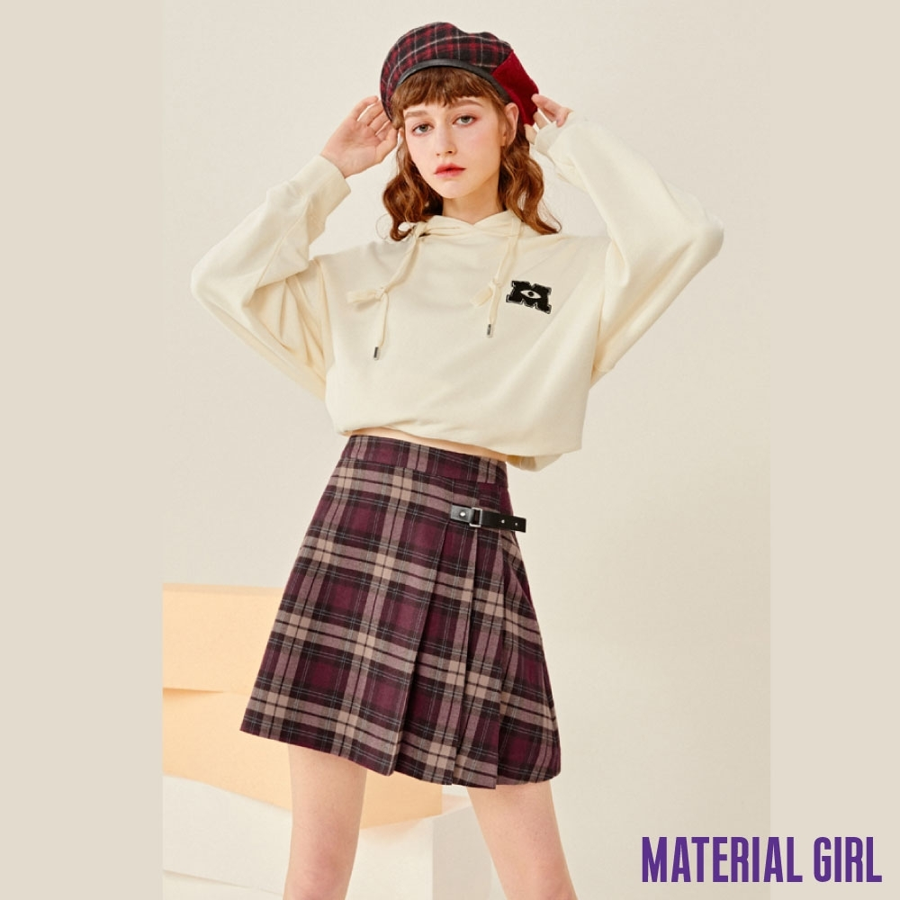 MATERIAL GIRL 冬日街頭A字短裙【20冬季款】-4524B1