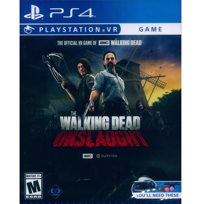 陰屍路:猛烈攻勢 Walking Dead Onslaught - PS4 英文美版(PSVR專用)