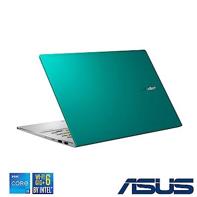 ASUS S433EQ 14吋筆電 (i5-1135G7/MX350/16G/512GB SSD/VivoBook S14/主旋綠)