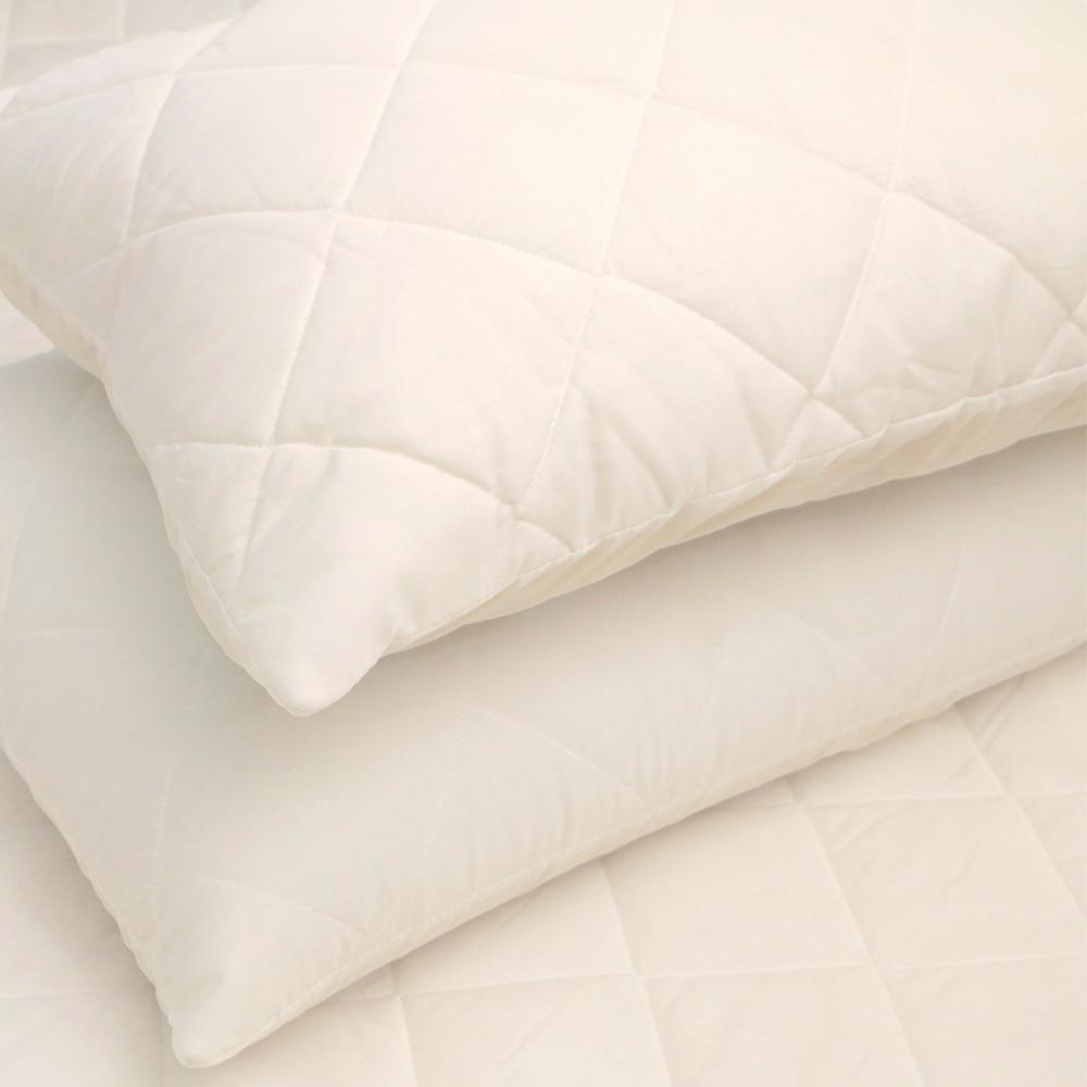 床之戀 台灣製枕頭保潔墊/枕頭套 1入