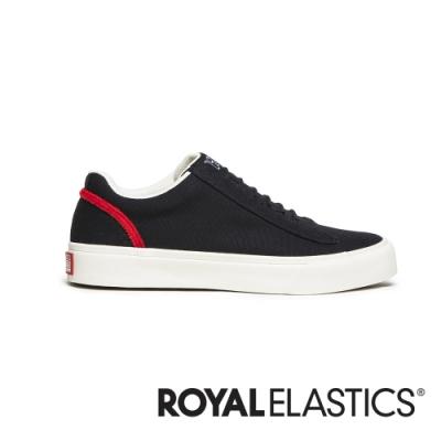 ROYAL ELASTICS Cruiser 黑紅日系帆布休閒鞋 (女) 90603-991