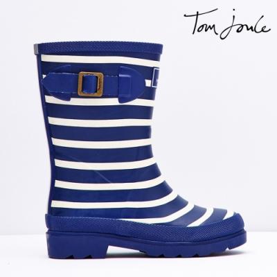 英國【Joules】帥氣條紋雨靴