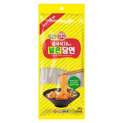 韓國不倒翁(OTTOGI)韓式正Q寬板條冬粉(18mm)100G